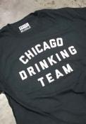 Rally Chicago Drinking Team Black Short Sleeve T Shirt