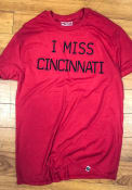 Rally Cincinnati Red I Miss Short Sleeve T Shirt