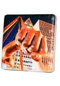 Detroit Fist Tilt 4x4 Coaster