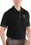 San Jose Earthquakes Antigua Salute Polo Shirt - Black