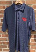 Dayton Flyers Antigua Quest Polo Shirt - Navy Blue