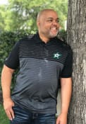 Antigua Dallas Stars Black Relay Short Sleeve Polo Shirt