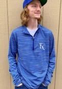 Kansas City Royals Antigua Capacity 1/4 Zip Pullover - Blue