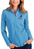Memphis Grizzlies Womens Antigua Glacier Light Weight Jacket - Blue