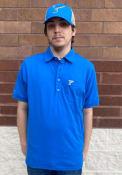 St Louis Blues Antigua Memento Polo Shirt - Blue