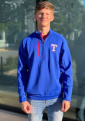 Texas Rangers Antigua Generation 1/4 Zip Pullover - Blue