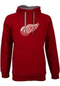 Detroit Red Wings Antigua Victory Hooded Sweatshirt - Red