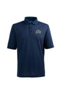 Antigua Drexel Dragons Navy Blue Pique Xtra-Lite Short Sleeve Polo Shirt