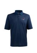 Duquesne Dukes Antigua Pique Xtra-Lite Polo Shirt - Navy Blue