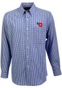 Antigua Dayton Flyers Blue Associate Dress Shirt