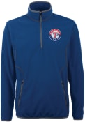 Antigua Texas Rangers Blue Ice 1/4 Zip Pullover