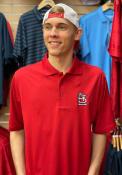 St Louis Cardinals Antigua Xtra-Lite Polo Shirt - Red