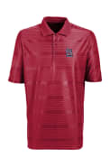Antigua St Louis Cardinals Red Illusion Short Sleeve Polo Shirt