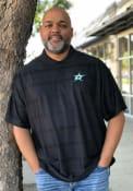 Antigua Dallas Stars Mens Black Illusion Short Sleeve Polo Shirt
