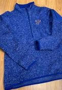 St Louis Blues Womens Antigua Fortune 1/4 Zip Pullover - Blue