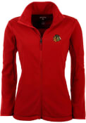 Chicago Blackhawks Womens Antigua Ice Medium Weight Jacket - Red