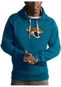 Jacksonville Jaguars Antigua Victory Hooded Sweatshirt - Teal