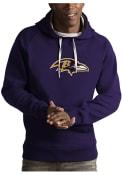 Baltimore Ravens Antigua Victory Hooded Sweatshirt - Purple