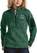 Colorado State Rams Womens Antigua Fortune 1/4 Zip Pullover - Green
