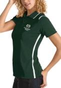 Colorado State Rams Womens Antigua Merit Polo Shirt - Green