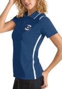 Creighton Bluejays Womens Antigua Merit Polo Shirt - Blue