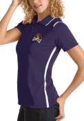 East Carolina Pirates Womens Antigua Merit Polo Shirt - Purple
