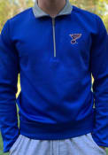 St Louis Blues Antigua Leader 1/4 Zip Pullover - Blue