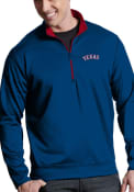 Antigua Texas Rangers Blue Leader 1/4 Zip Pullover