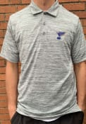 St Louis Blues Antigua Possession Polo Shirt - Grey