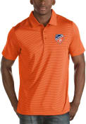 FC Cincinnati Antigua Quest Polo Shirt - Orange