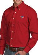 Toronto Blue Jays Antigua Dynasty Dress Shirt - Red