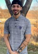 Antigua Sporting Kansas City Navy Blue Possession Short Sleeve Polo Shirt
