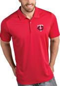 Minnesota Twins Antigua Tribute Polo Shirt - Red