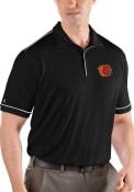 Calgary Flames Antigua Salute Polo Shirt - Black