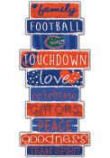 Florida Gators Celebrations Stack 24 Inch Sign