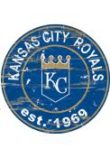 Kansas City Royals Established Date Circle 24 Inch Sign