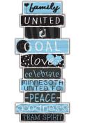 Minnesota United FC Celebrations Stack 24 Inch Sign