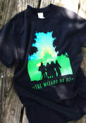Wizard of Oz Womens Black Leaving Forest Short Sleeve T Shirt