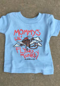 Wizard of Oz Toddler Light Blue Mommy's Lil Flying Monkey Short Sleeve T Shirt