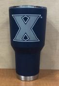 Xavier Musketeers Team Logo 30oz Stainless Steel Tumbler - Navy Blue