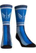 St Louis Battlehawks XFL 2020 Team Stripe Crew Socks - Blue
