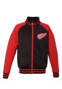 Detroit Red Wings Black Reversible Track Jacket