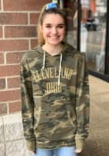 Alternative Apparel Cleveland Camo Long Sleeve Hood Sweatshirt
