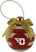 Dayton Flyers Ceramic Bulb Ornament