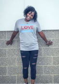 Chitown Clothing Chicago Grey Love Short Sleeve T Shirt