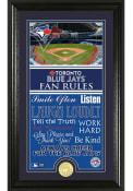 Toronto Blue Jays 12x20 Fan Rules Plaque