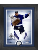 Tampa Bay Lightning 2021 Stanley Cup Final MVP Silver Coin Photo Mint Plaque
