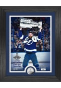 Victor Hedman Tampa Bay Lightning 2021 Stanley Cup Trophy Coin Photo Mint Plaque
