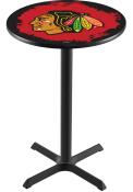 Chicago Blackhawks L211 36 Inch Pub Table