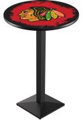 Chicago Blackhawks L217 42 Inch Pub Table